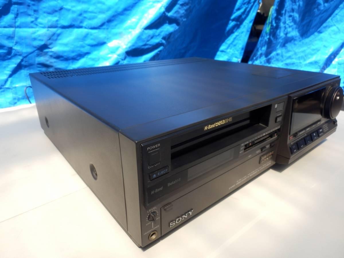 SONY ソニー SL-HF3000 ベータビデオデッキ 通電確認済み ※一応ジャンク扱い_画像2