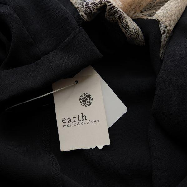 ◆earth music & ecology アースミュージック&エコロジー◆ニュアンスジャケット◆ネイビー◆Sサイズ◆タグ付・未使用◆_画像5