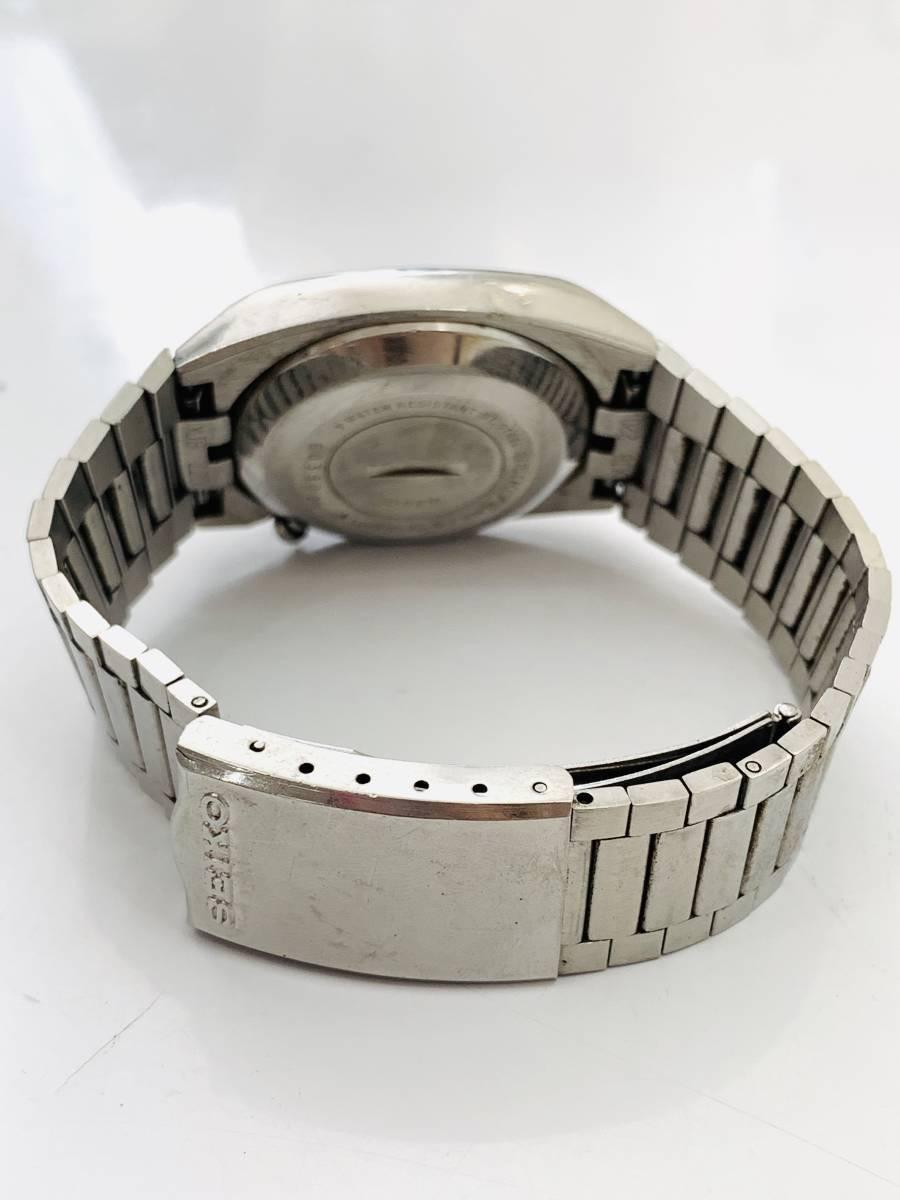 2150 480円~ 中古品 SEIKO/セイコー 初期デジタルウォッチ 0432-5001 フロントボタン クォーツ メンズ 腕時計_画像6