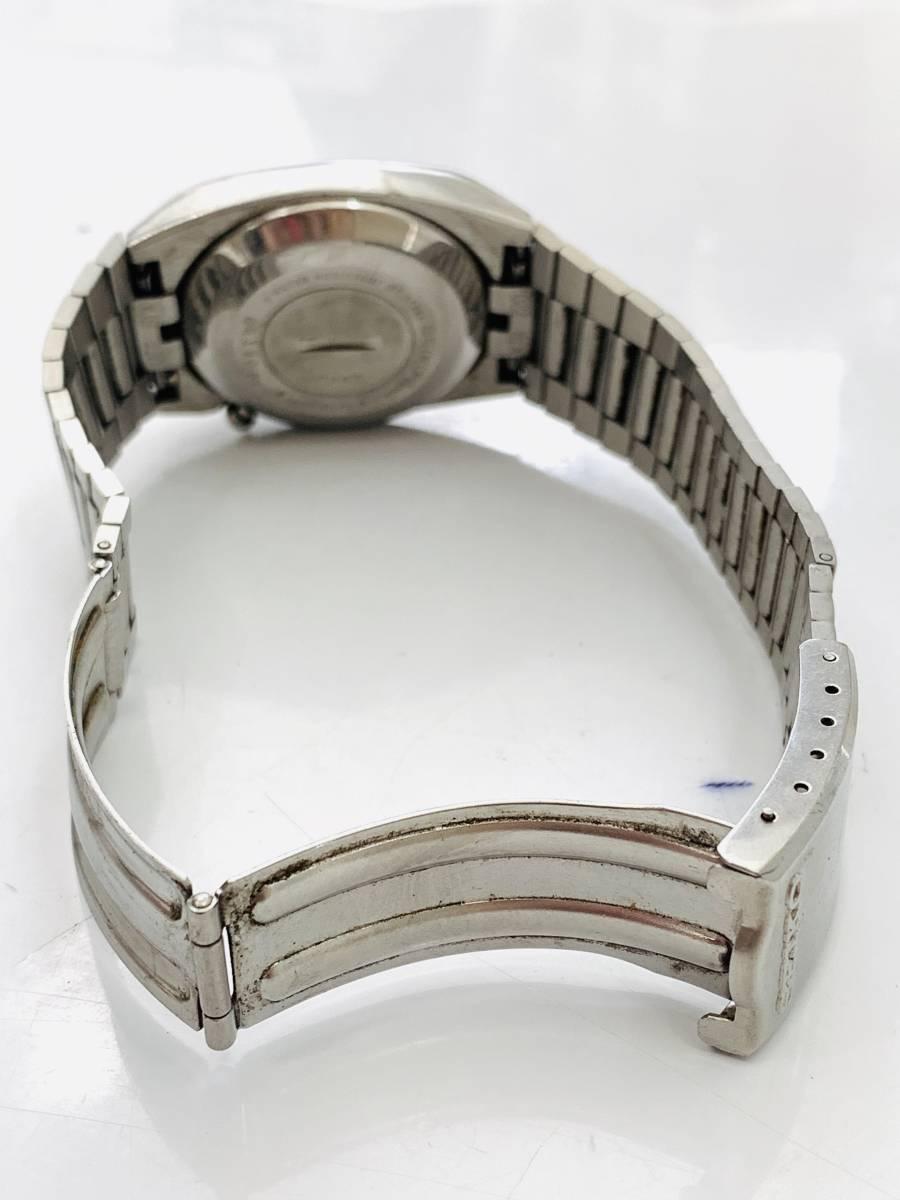 2150 480円~ 中古品 SEIKO/セイコー 初期デジタルウォッチ 0432-5001 フロントボタン クォーツ メンズ 腕時計_画像7