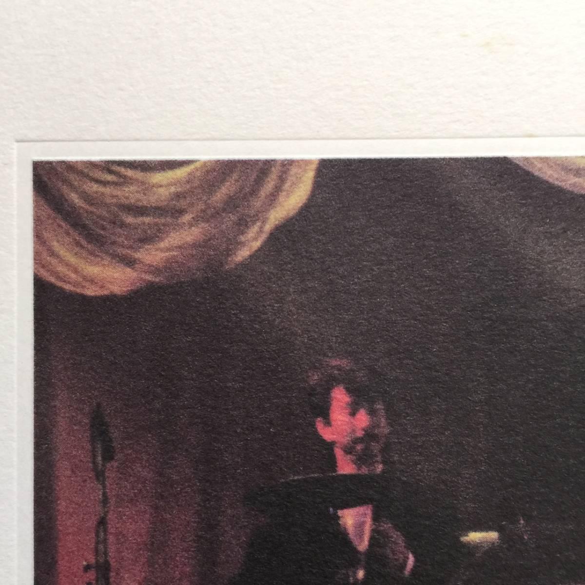 希少 美品 萩原健一 yin & yang Memorial of Christmas 1987 ポスター B3 サイズ Kenichi Hagiwara イン&ヤン ショーケン_画像5