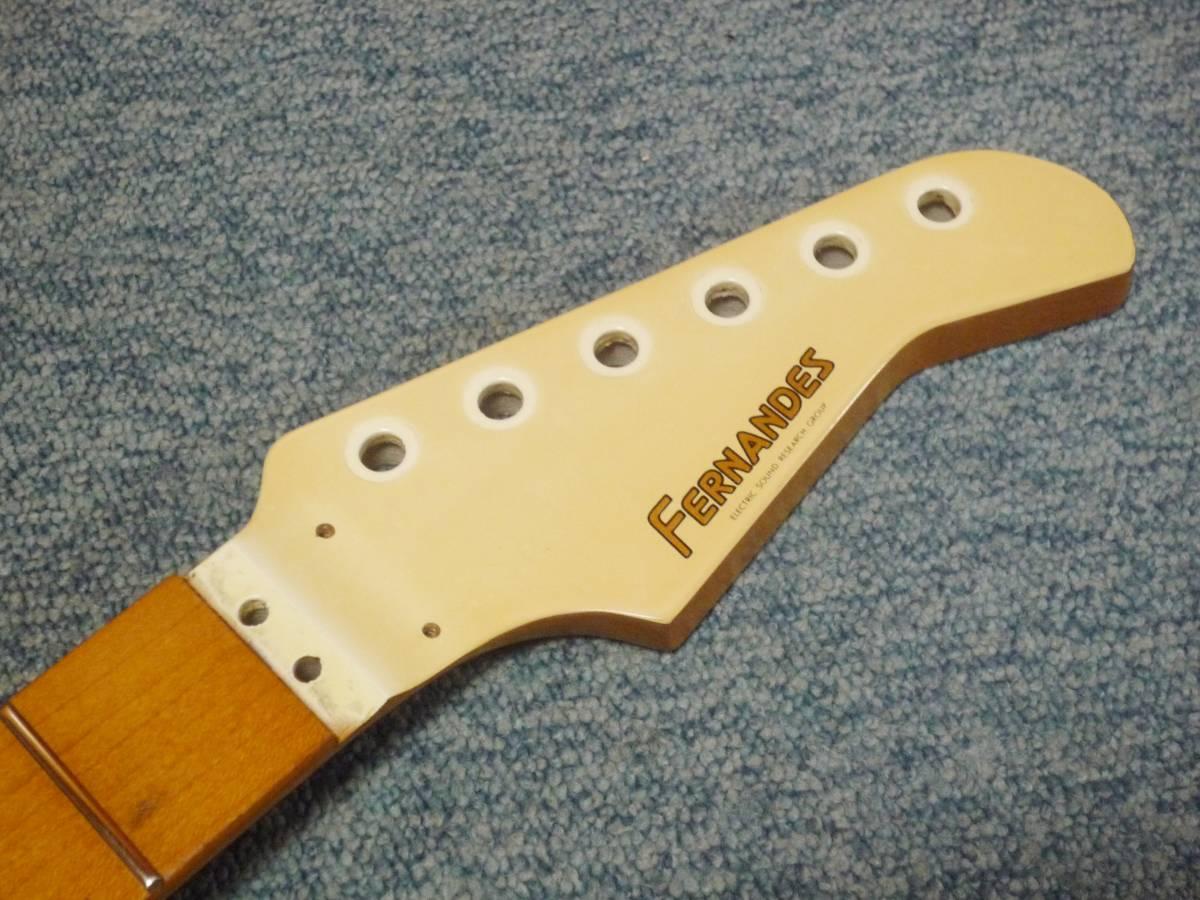 1987年製 FERNANDES FR-65 Long Scale 24F Neck Maple/Mapleフェルナンデス ロング・スケール メープルネック・メープル指板