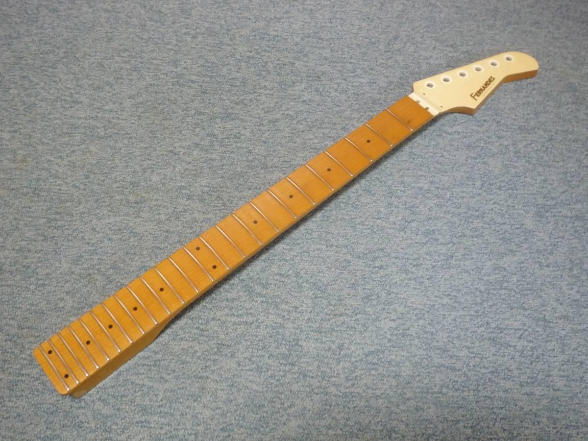 1987年製 FERNANDES FR-65 Long Scale 24F Neck Maple/Mapleフェルナンデス ロング・スケール メープルネック・メープル指板_画像2