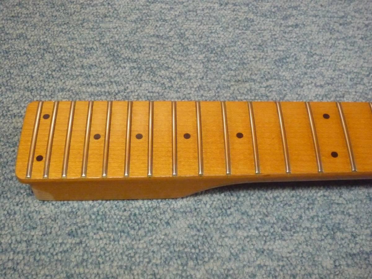 1987年製 FERNANDES FR-65 Long Scale 24F Neck Maple/Mapleフェルナンデス ロング・スケール メープルネック・メープル指板_画像5