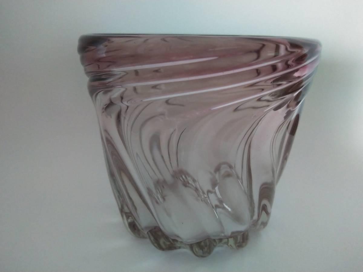 《琉球ガラス》紫のロックグラス6個セット♪♪