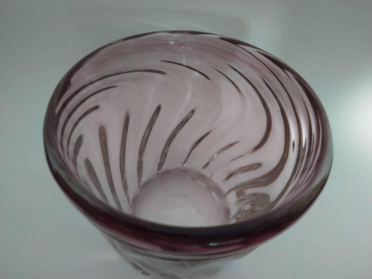 《琉球ガラス》紫のロックグラス6個セット♪♪_画像2