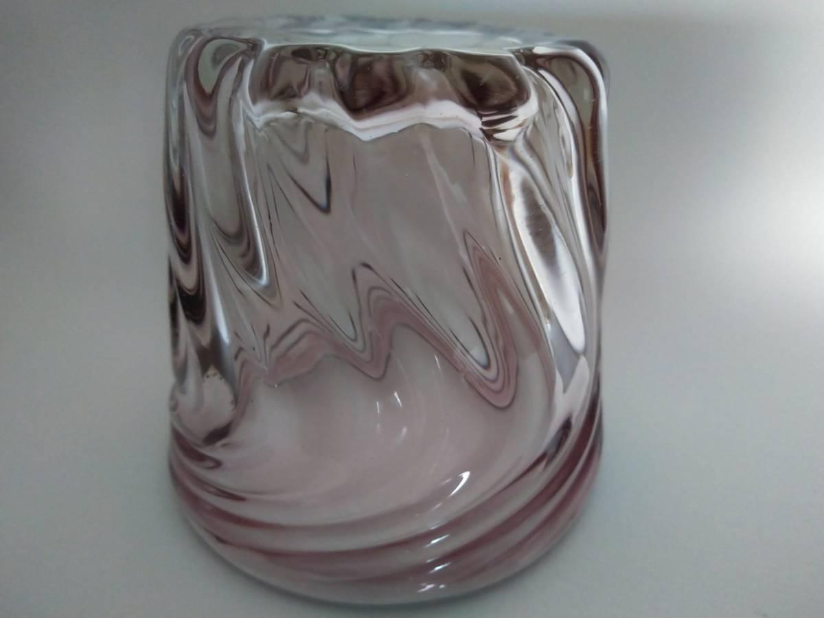 《琉球ガラス》紫のロックグラス6個セット♪♪_画像4