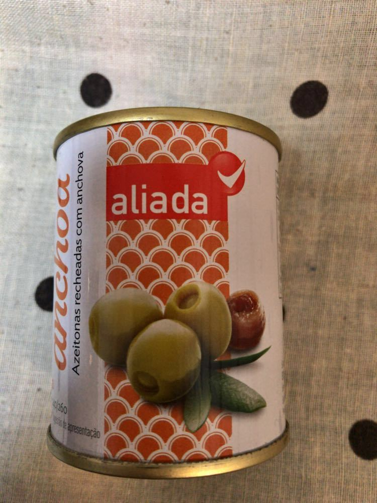 「送料込」オリーブの実 缶詰 スペイン 海外食品_画像1