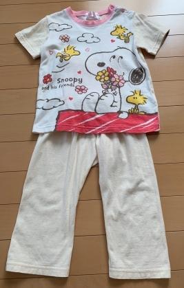 スヌーピー*パジャマ*95サイズ*女の子用*送料185円