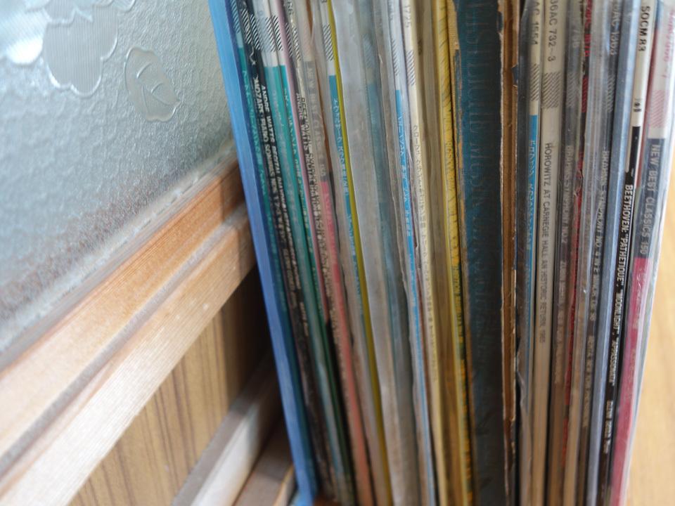 LP 未開封シールド含 クラシック CBS当時物 MASTER WORKSグレイ・ラベルのみ41枚セット グレン・グールド DRデジタル録音 他_画像2