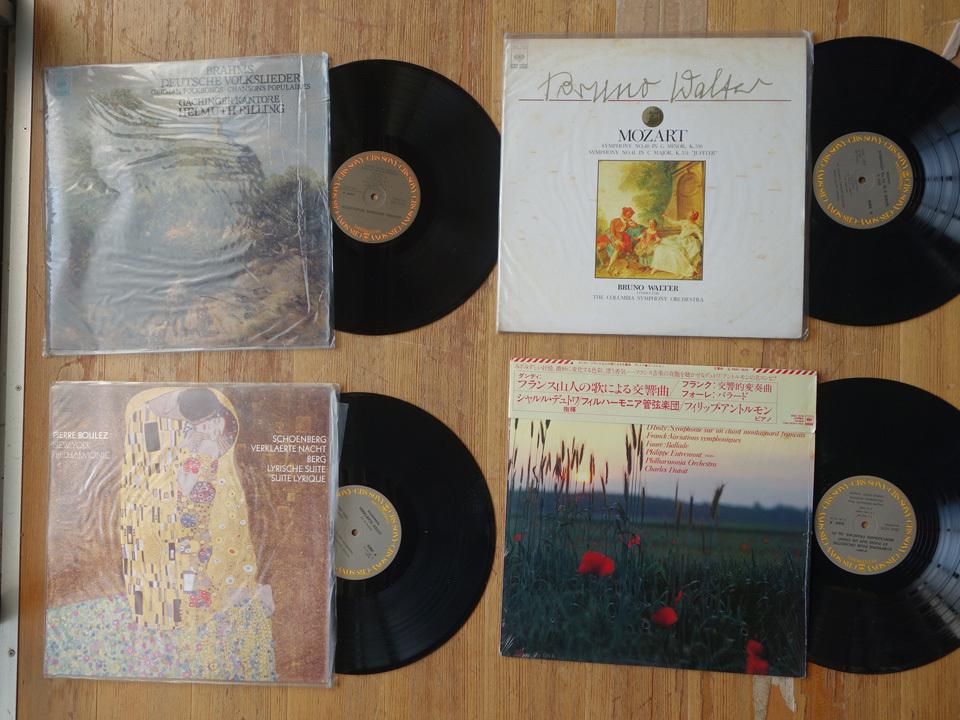 LP 未開封シールド含 クラシック CBS当時物 MASTER WORKSグレイ・ラベルのみ41枚セット グレン・グールド DRデジタル録音 他_画像5