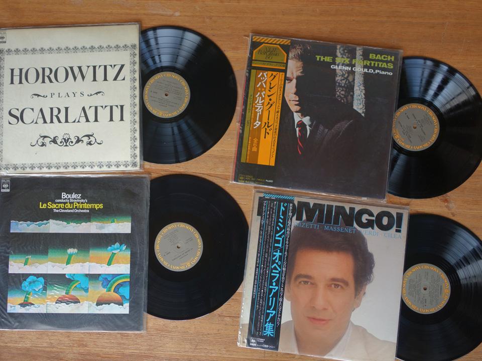 LP 未開封シールド含 クラシック CBS当時物 MASTER WORKSグレイ・ラベルのみ41枚セット グレン・グールド DRデジタル録音 他_画像6
