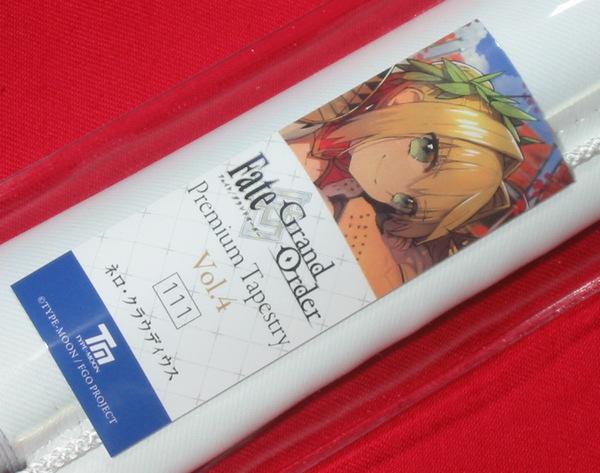 Fate/Grand Order FGO Premium Tapestry ネロ・クラウディウス 最終再臨 B2タペストリー ワダアルコ C95 TYPE-MOON 未開封_画像1