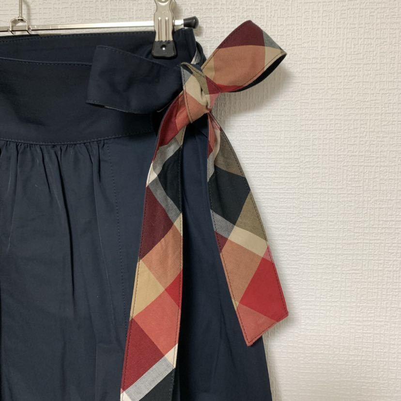 ブルーレーベルクレストブリッジ ラップスカート_画像4