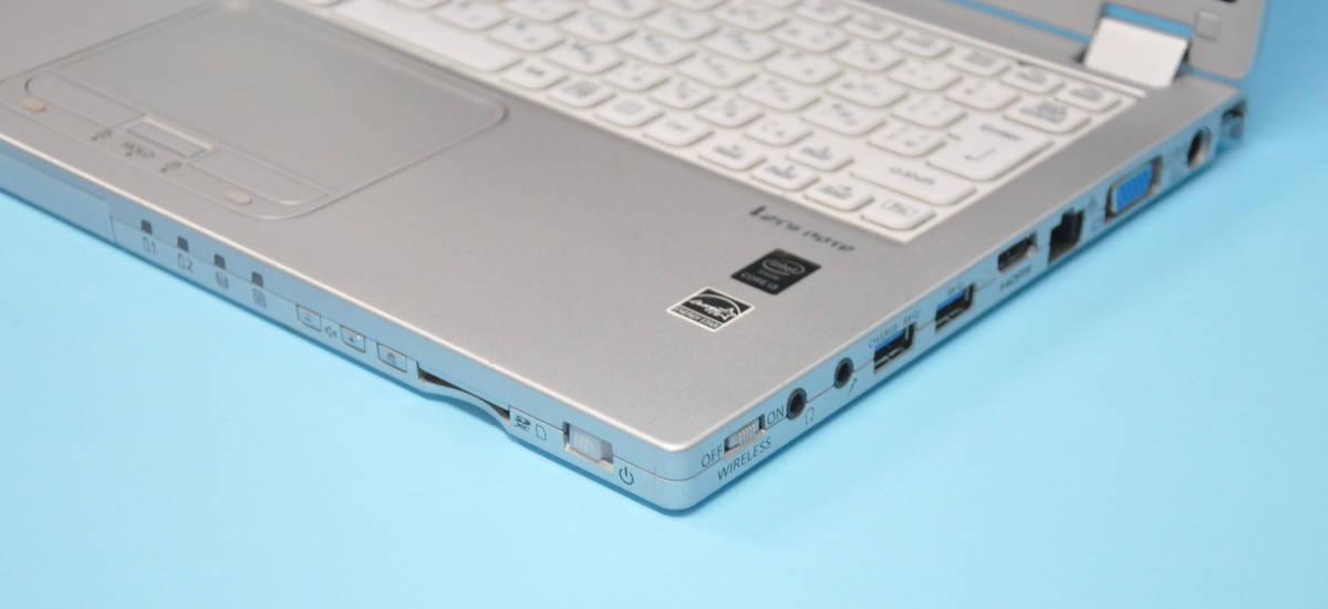 ♪ Panasonic CF-MX4 ♪ フルHD タッチパネル Corei3 5010U / メモリ 4GB/ SSD 128GB / カメラ / Office / Win10_画像8