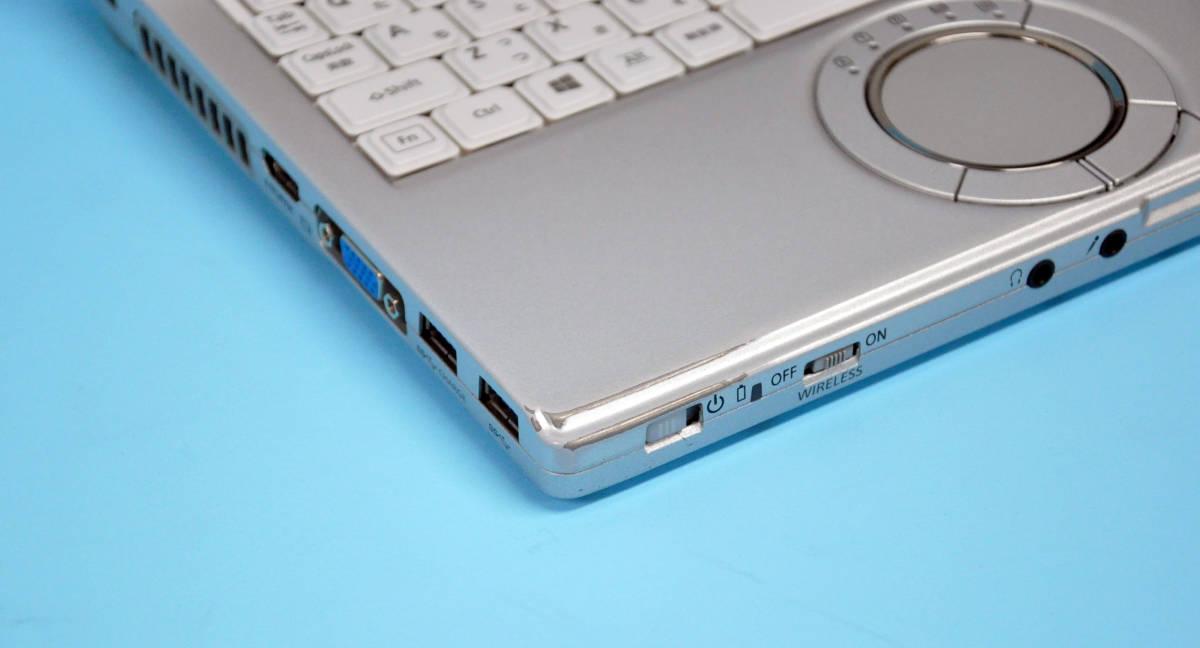 ♪ 使用時間5170H ♪ Panasonic CF-SX4 Corei5-5300U / メモリ 4GB / HDD:320GB / カメラ / Bluetooth / Office / Win10 _画像6