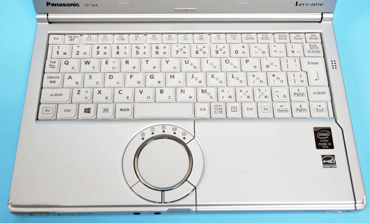 ♪ 使用時間5170H ♪ Panasonic CF-SX4 Corei5-5300U / メモリ 4GB / HDD:320GB / カメラ / Bluetooth / Office / Win10 _画像2
