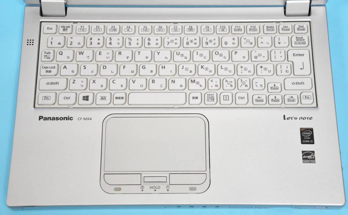 ♪ Panasonic CF-MX4 ♪ フルHD タッチパネル Corei3 5010U / メモリ 4GB/ SSD 128GB / カメラ / Office / Win10_画像2