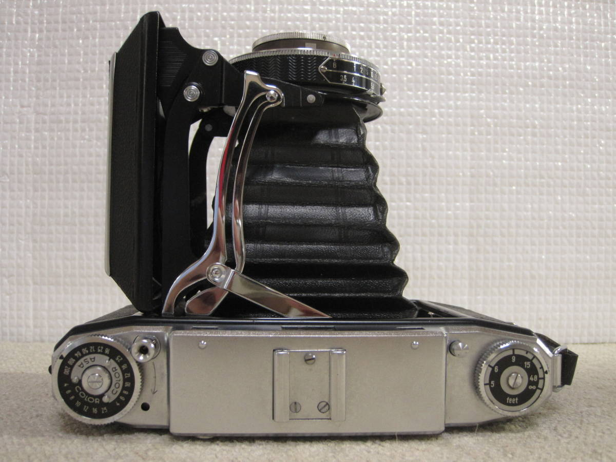 ▲ZISS IKON▲Zeiss-opton Tessar 1:3.5 f=105mm/SYNCHRO-COMPUR/蛇腹カメラ▲ジャンク品_画像6