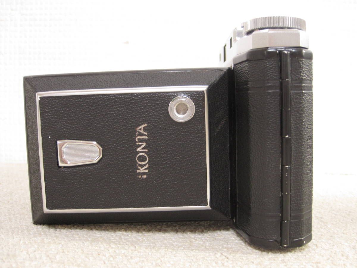 ▲ZISS IKON▲Zeiss-opton Tessar 1:3.5 f=105mm/SYNCHRO-COMPUR/蛇腹カメラ▲ジャンク品_画像4