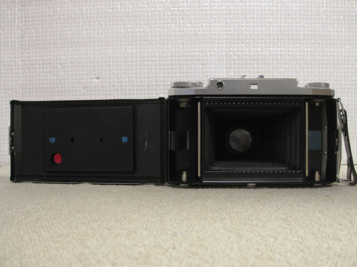 ▲ZISS IKON▲Zeiss-opton Tessar 1:3.5 f=105mm/SYNCHRO-COMPUR/蛇腹カメラ▲ジャンク品_画像10