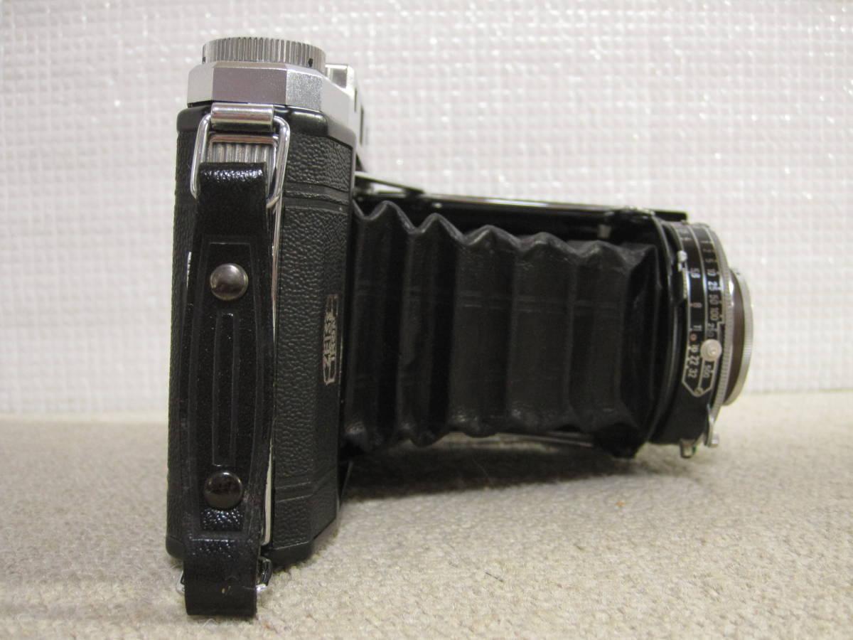 ▲ZISS IKON▲Zeiss-opton Tessar 1:3.5 f=105mm/SYNCHRO-COMPUR/蛇腹カメラ▲ジャンク品_画像5
