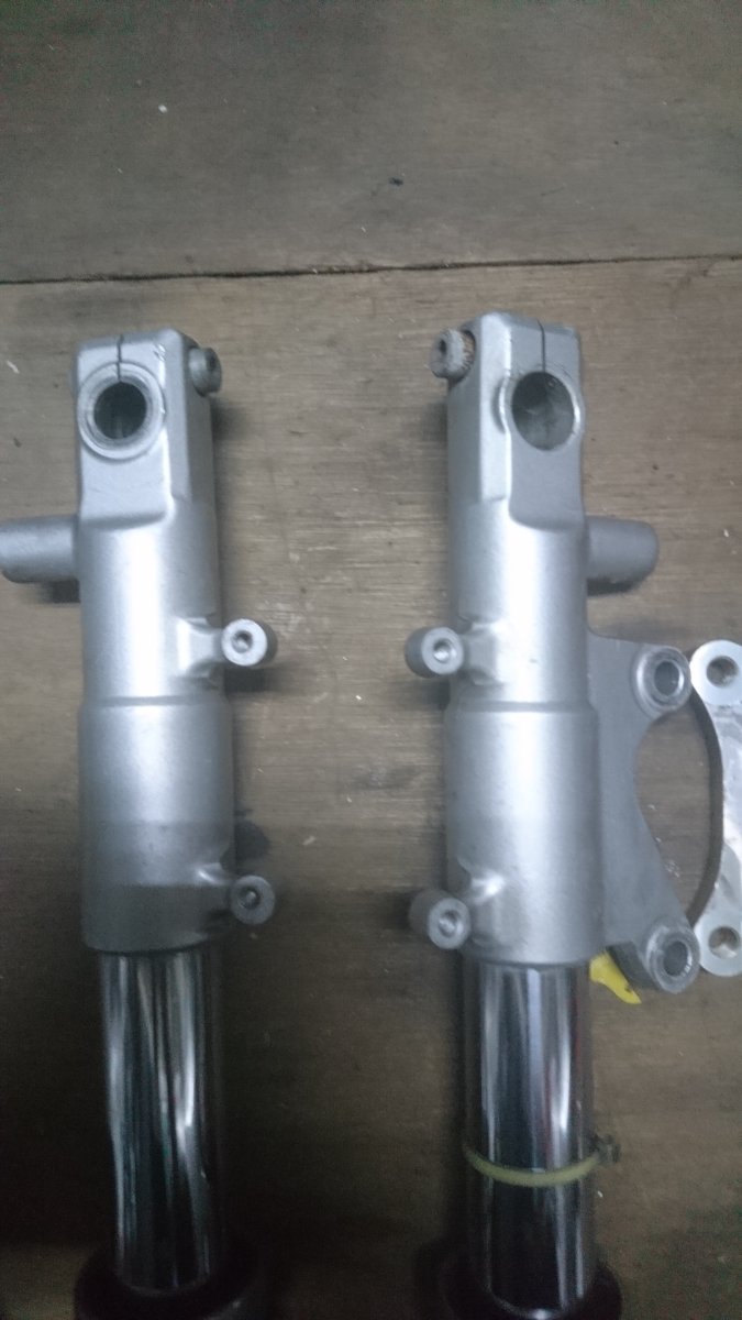 TZ125フロントフォーク ブレンボサポート付 RS125 NSF NSR50 NSR80 モンキー_画像4
