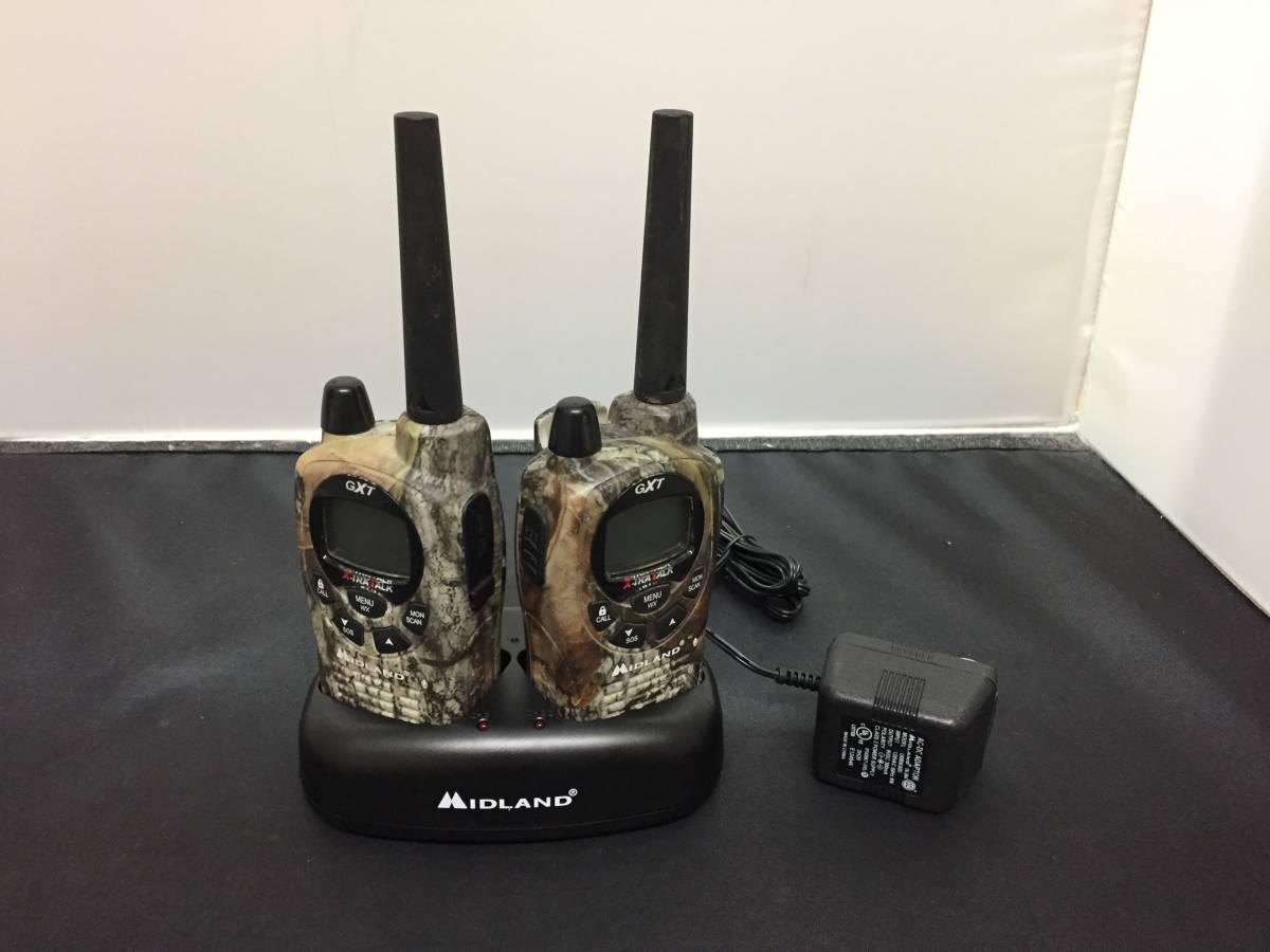 Midland 無線機 GXT1050カモ柄? ジャンク YA-H500