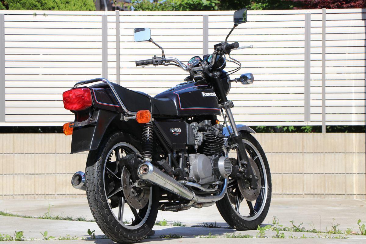 Z400FX E2昭和55年 車検付き令和2年10月まで_画像3