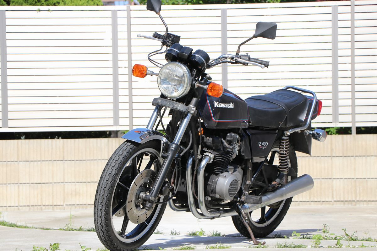 Z400FX E2昭和55年 車検付き令和2年10月まで_画像5