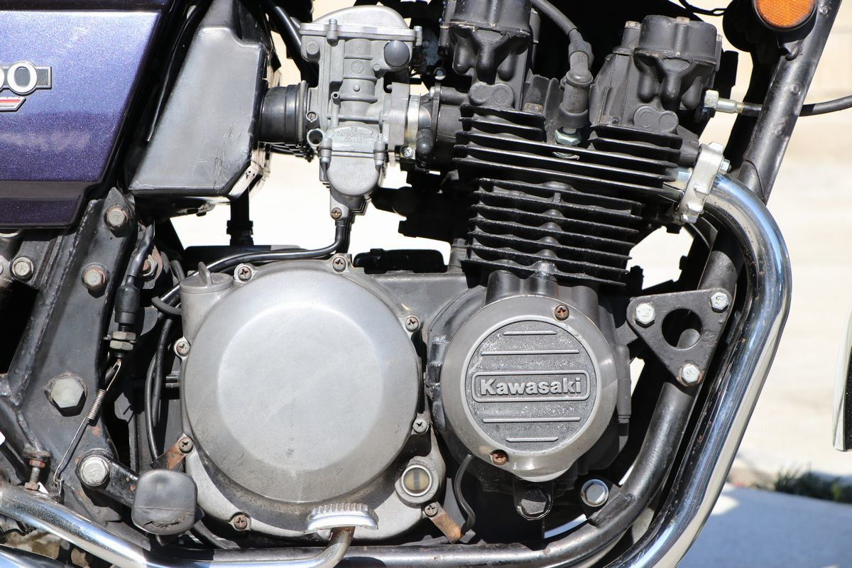Z400FX E2昭和55年 車検付き令和2年10月まで_画像7