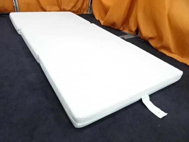 送料無料 西川 ボナノッテ 三つ折りマットレス 高反発 シングルサイズ 展示品