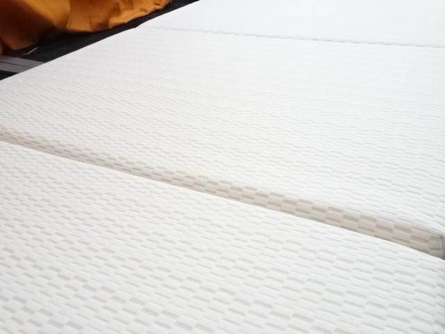 送料無料 西川 ボナノッテ 三つ折りマットレス 高反発 シングルサイズ 展示品_画像5