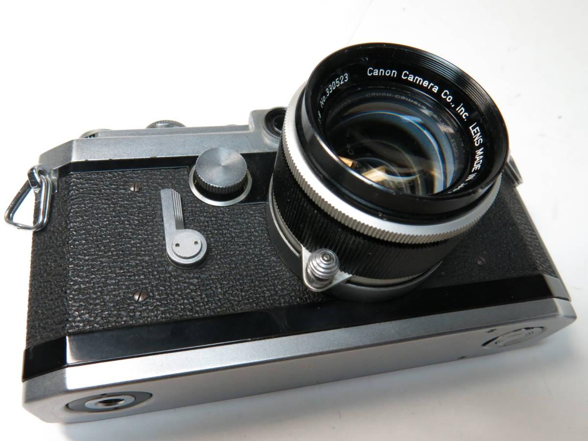 キャノン Canon VL2 + 50mm f1.8 ライカマウント 良品_画像2