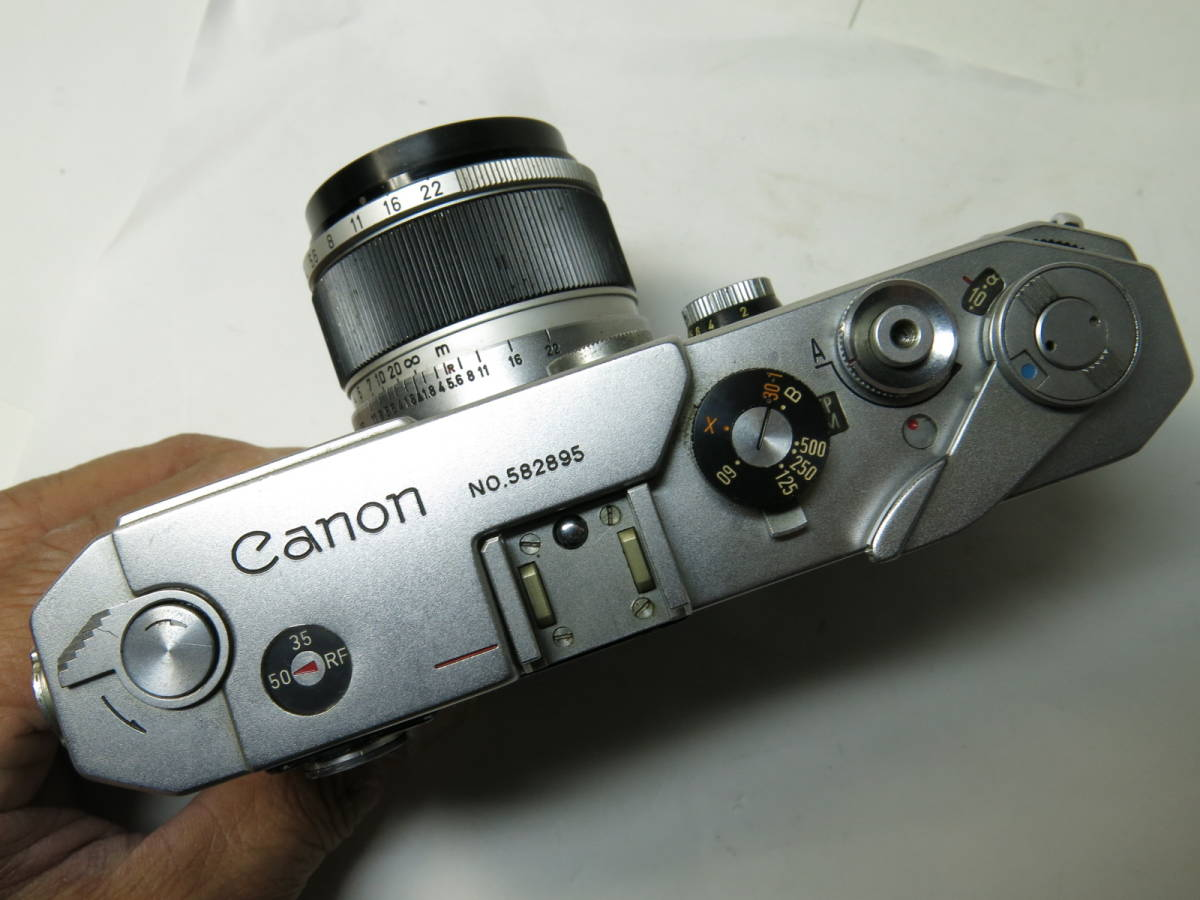 キャノン Canon VL2 + 50mm f1.8 ライカマウント 良品_画像5