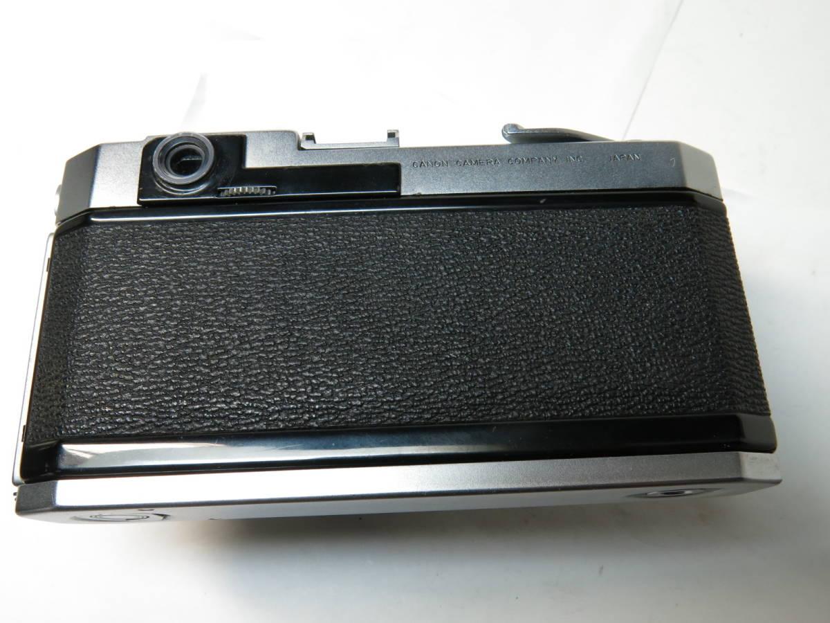 キャノン Canon VL2 + 50mm f1.8 ライカマウント 良品_画像6