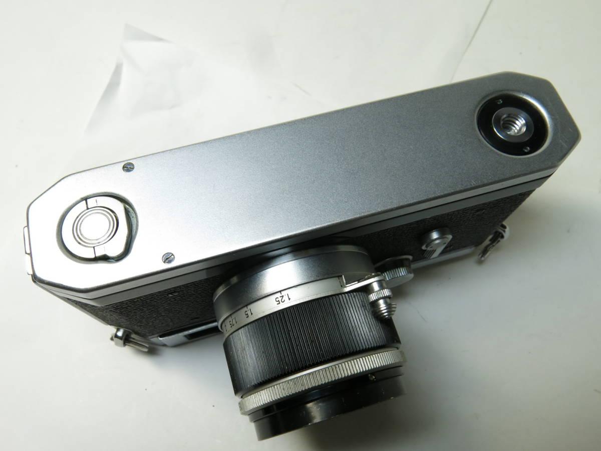 キャノン Canon VL2 + 50mm f1.8 ライカマウント 良品_画像7