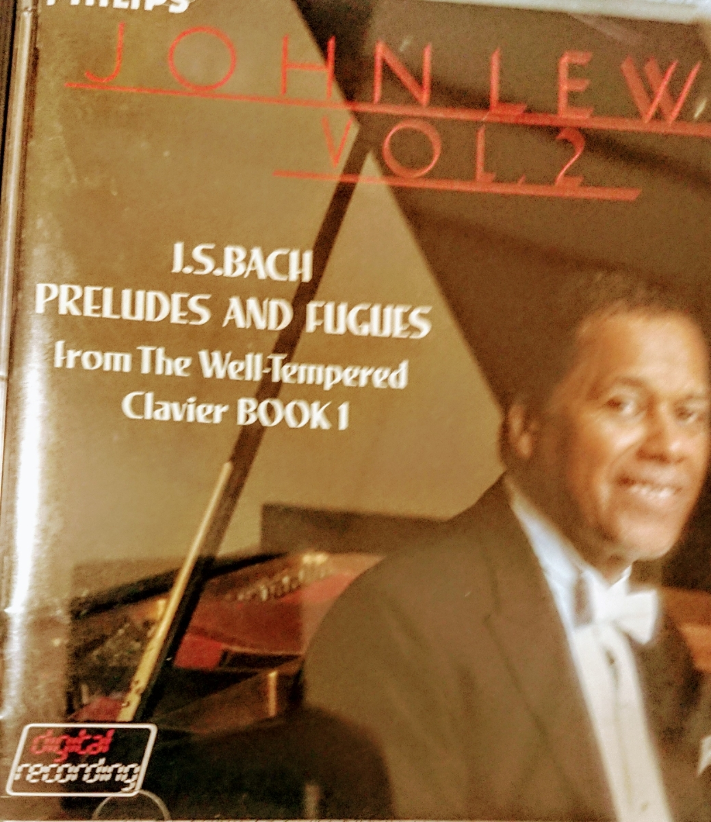 国内初期盤CDジョン・ルイス/バッハ「プレリュードとフーガ」VOL2(国内盤、中古品、帯なし)