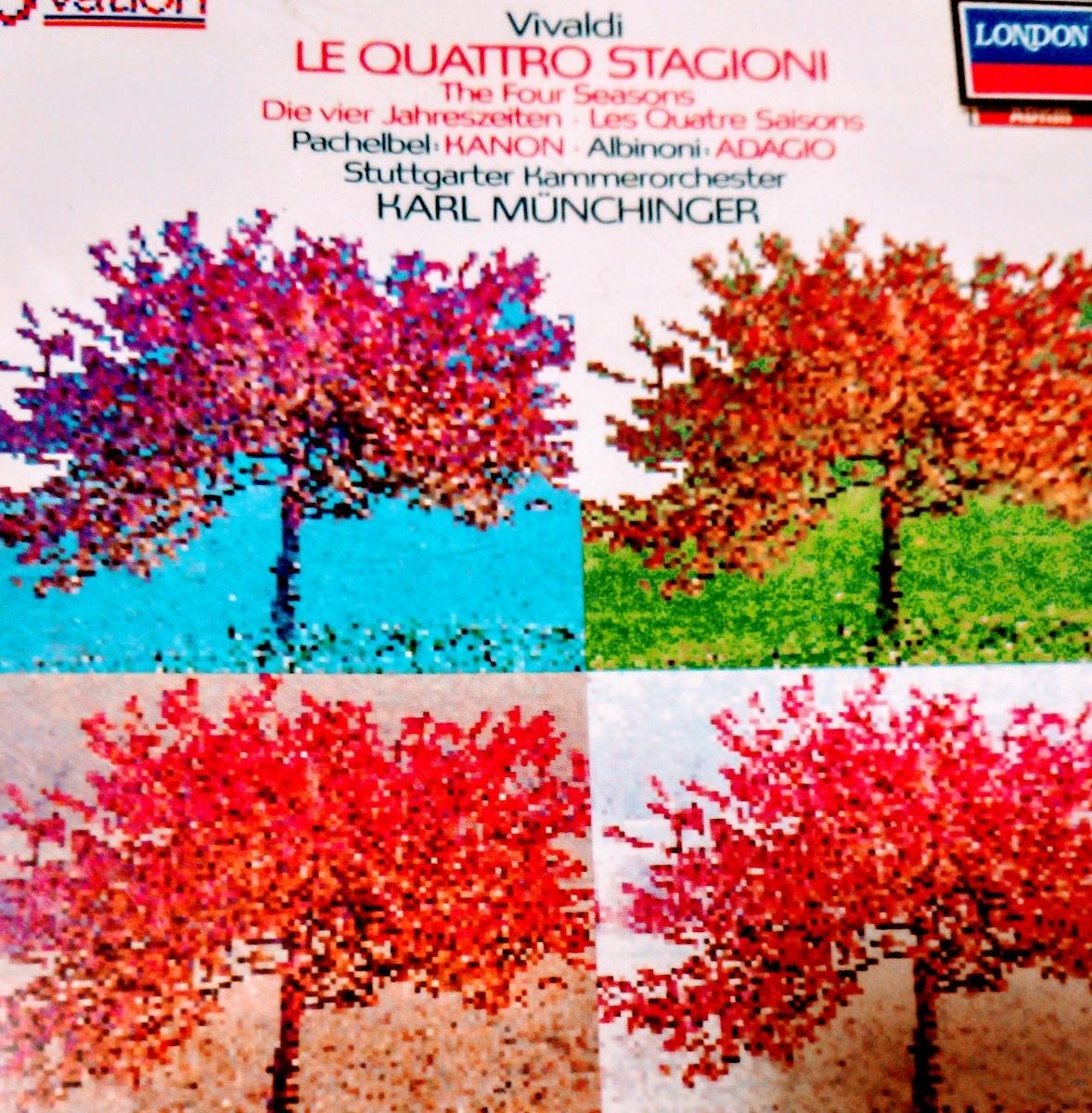 西独盤CDミュンヒンガー/「四季」他(輸入盤、中古品、帯なし)