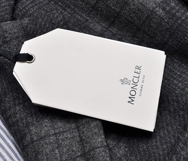 新品34万 MONCLER GAMME BLEU (モンクレール ガム・ブルー) 最高級ウール100% ダウンジャケット サイズ3 (Lサイズ相当) [直営購入] メンズ_画像4
