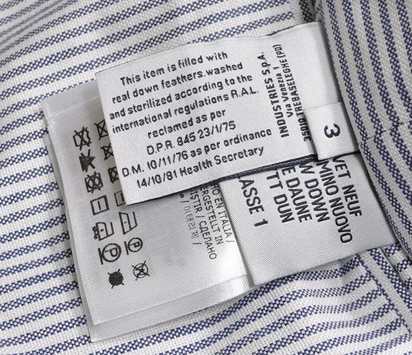 新品34万 MONCLER GAMME BLEU (モンクレール ガム・ブルー) 最高級ウール100% ダウンジャケット サイズ3 (Lサイズ相当) [直営購入] メンズ_画像9