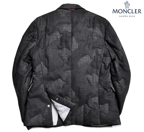 新品34万 MONCLER GAMME BLEU (モンクレール ガム・ブルー) 最高級ウール100% ダウンジャケット サイズ3 (Lサイズ相当) [直営購入] メンズ_画像2