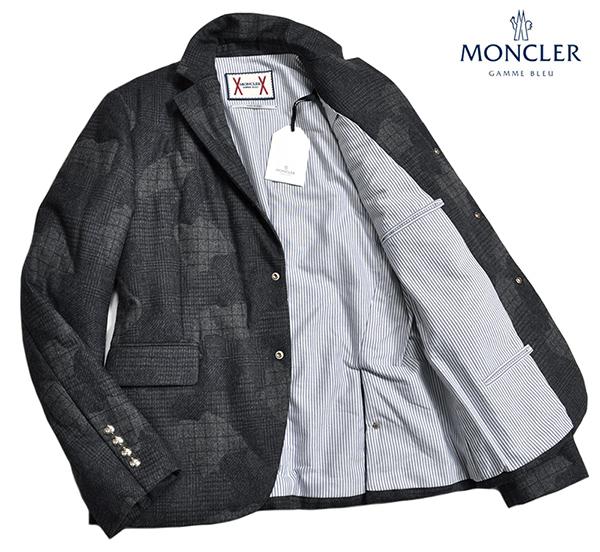 新品34万 MONCLER GAMME BLEU (モンクレール ガム・ブルー) 最高級ウール100% ダウンジャケット サイズ3 (Lサイズ相当) [直営購入] メンズ_画像3
