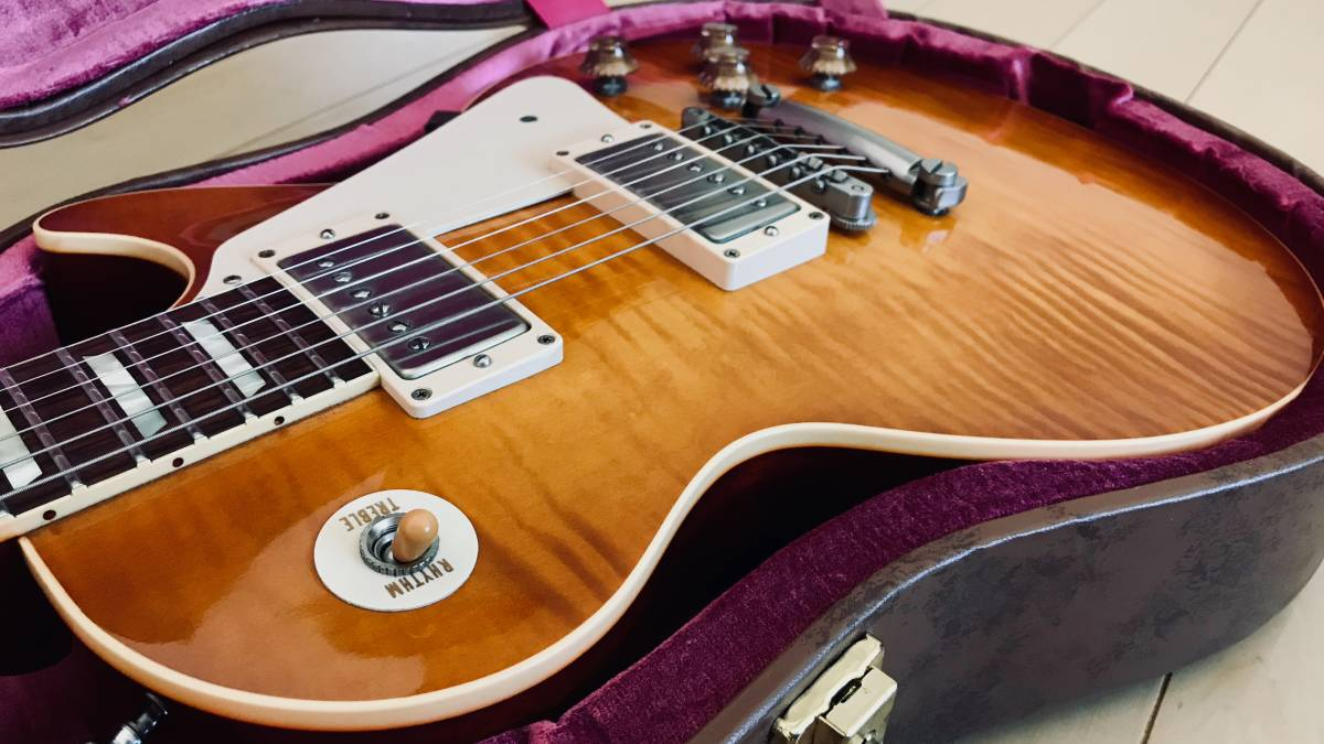 GIBSON Custom Shop 1959 Les Paul Historic Collection 2014 ヒスコレ botb85 beauty of the burst_画像3