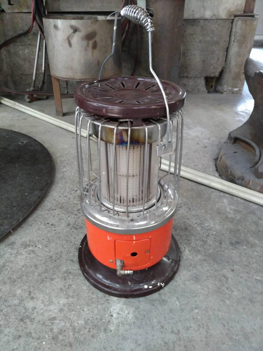 リンナイ R-890VM-402 都市ガス レトロストーブ ホース付 燃焼テスト済_画像2