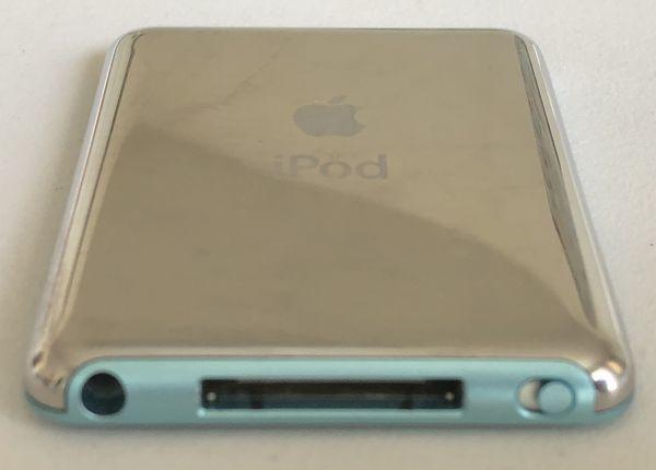 大容量【Apple】iPod nano 第3世代(8GB)ブルー :送料185円_画像3