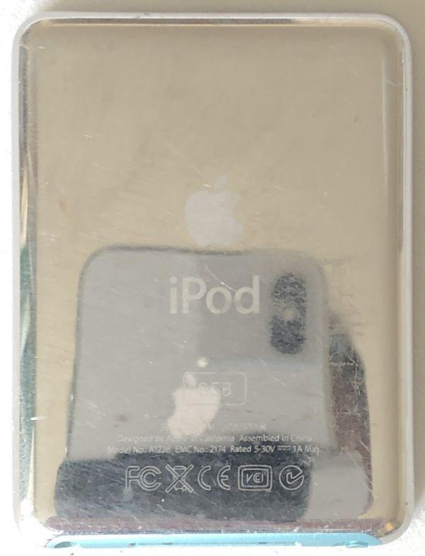 大容量【Apple】iPod nano 第3世代(8GB)ブルー :送料185円_画像2