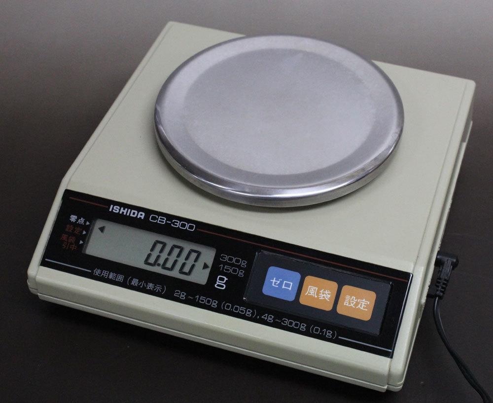 中古品 イシダ 電子天びん CB-X ひょう量150g/300g切替 (沖縄・離島配送不可)