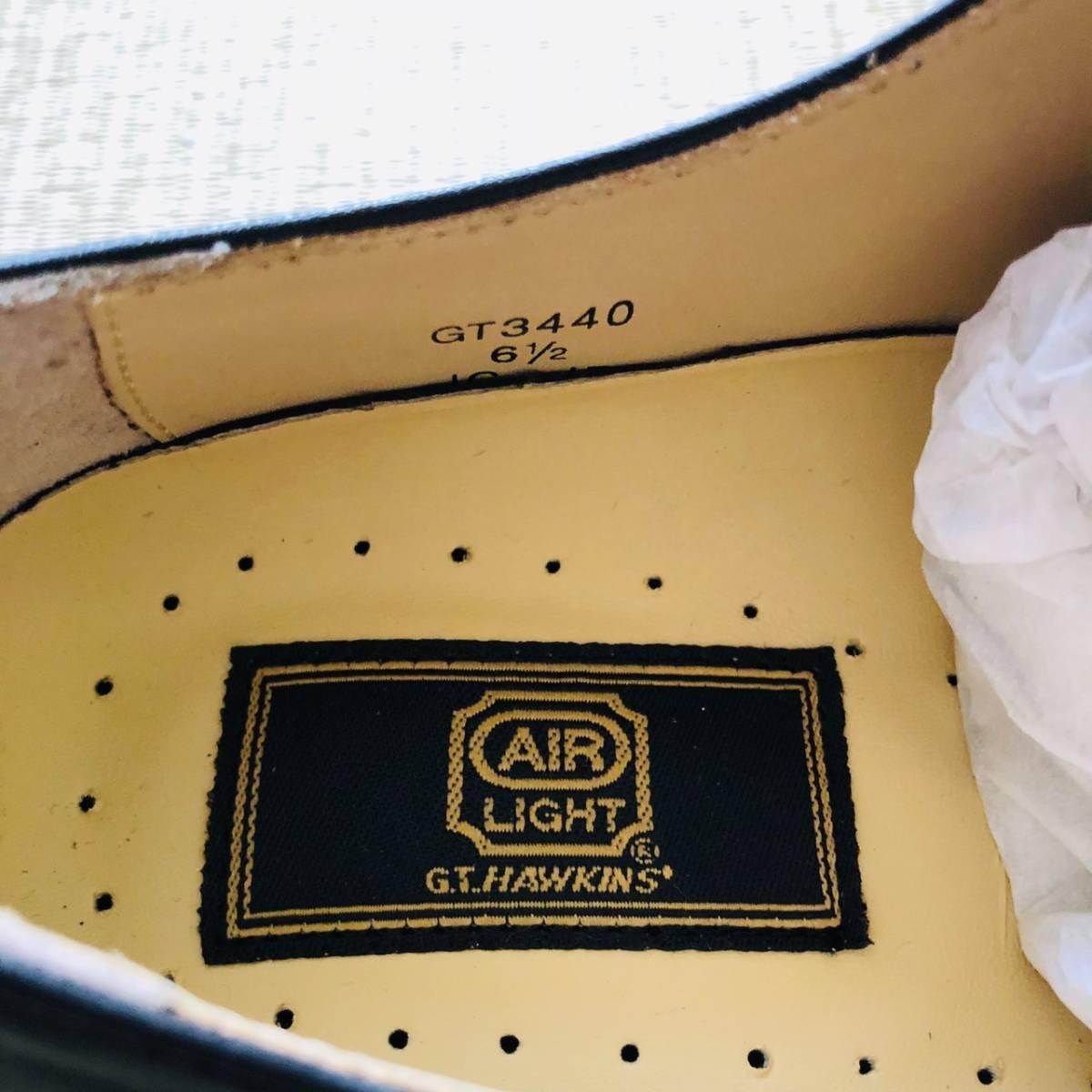 【未使用新品】GT HAWKINS AIR LIGHT 革靴 ビジネスシューズ 黒 6 24.5cm_画像3