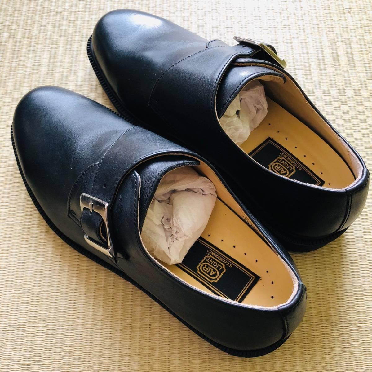 【未使用新品】GT HAWKINS AIR LIGHT 革靴 ビジネスシューズ 黒 6 24.5cm_画像2